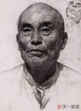 赵赛老师素描作品