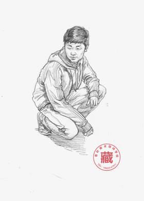 重庆鲁轩画室速写图5