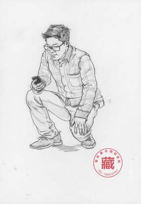 重庆鲁轩画室速写图3