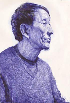 重庆鲁轩画室素描图6