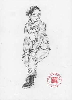 重庆鲁轩画室速写图2