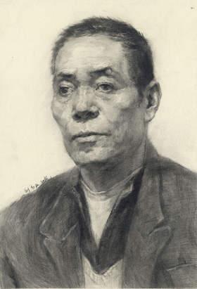 重庆鲁轩画室素描图3