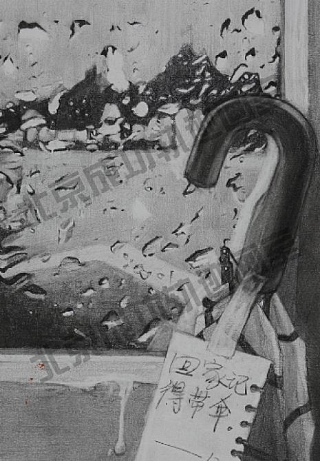 北京成功轨迹画室素描图5