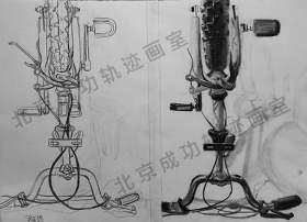 北京成功轨迹画室设计图1