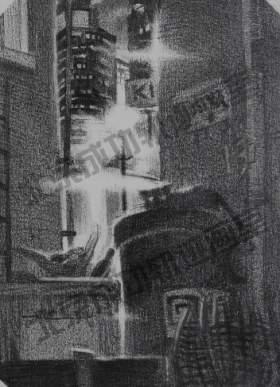 北京成功轨迹画室素描图3