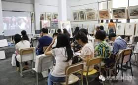 吴越画室 课程学习中