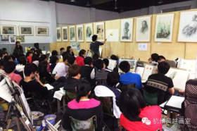 杭州吴越画室教室图2
