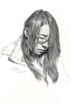 北京周达画室素描图3