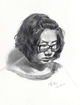 北京周达画室素描图1