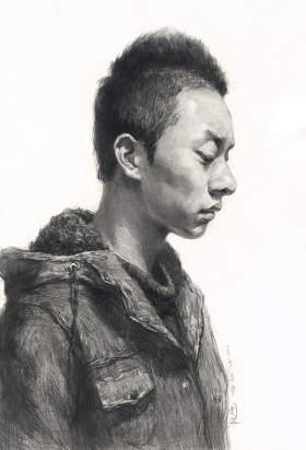 北京周达画室素描图7