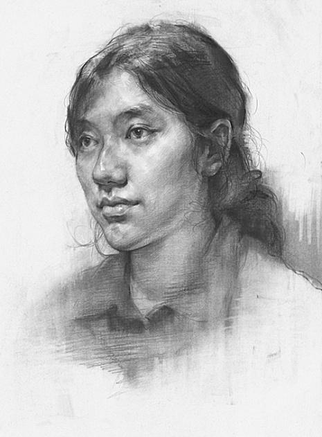 杭州东昱画室素描图2