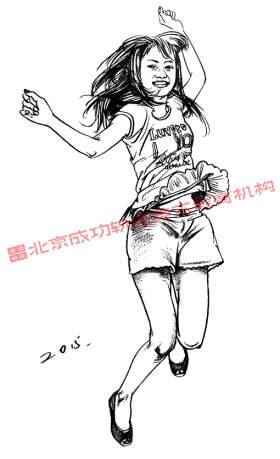 北京成功轨迹画室速写图3