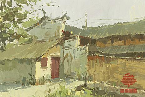 杭州白墙画室色彩图1