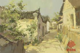 杭州白墻畫室色彩圖8