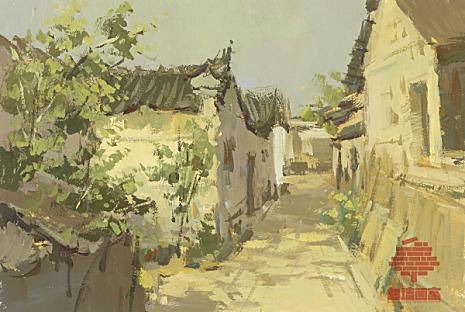 杭州白墙画室色彩图8