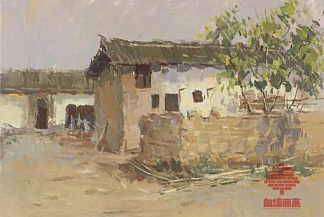 杭州白墙画室色彩图5