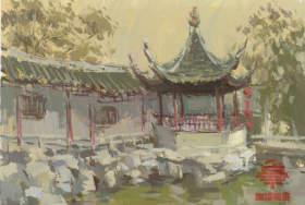 杭州白墻畫室色彩圖4