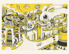 杭州白墻畫室設計圖3