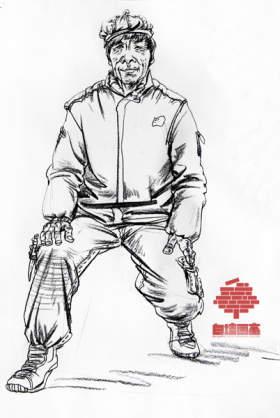 杭州白墻畫室速寫圖2