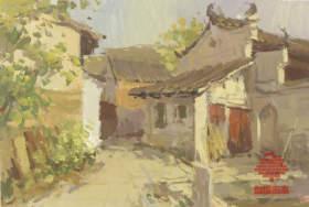 杭州白墻畫室色彩圖7